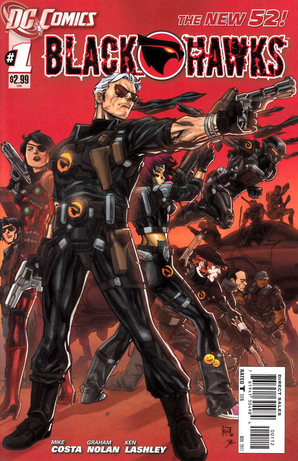 Blackhawks #1 Second Printing [DC Comic] LARGE