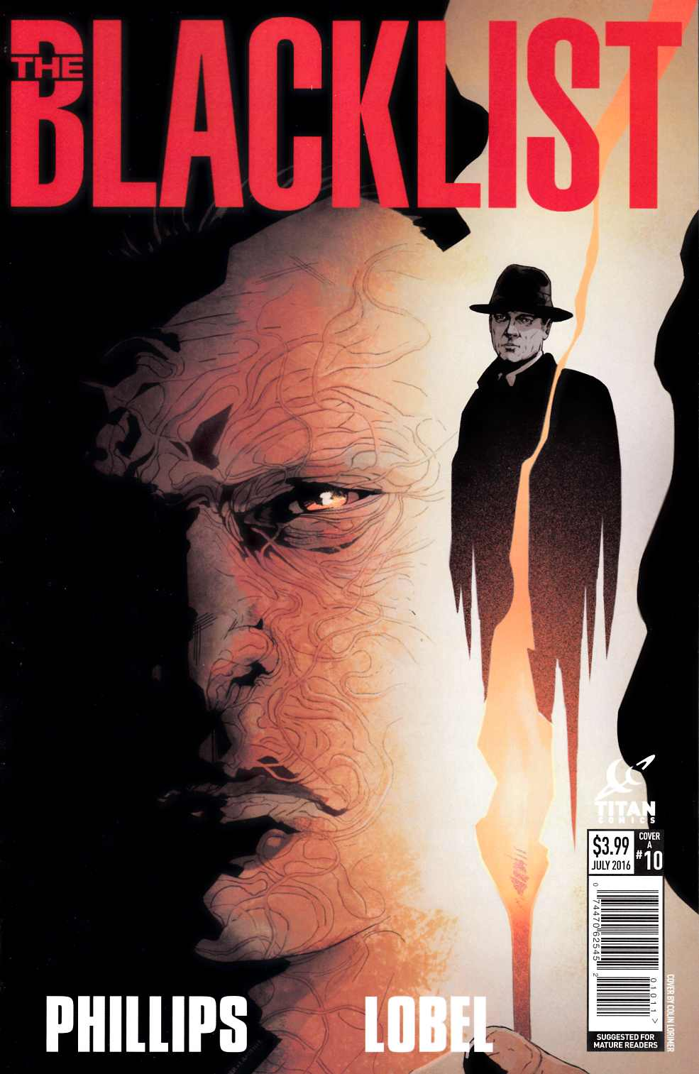 Blacklist #10 Cover A [Titan Comic] THUMBNAIL