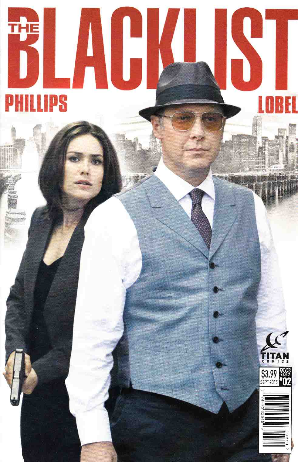 Blacklist #2 Subscription Photo Cover [Titan Comic] THUMBNAIL