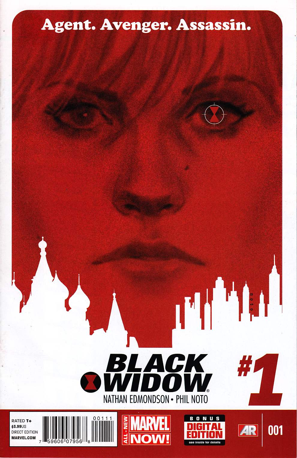Black Widow #1 [Marvel Comic] THUMBNAIL