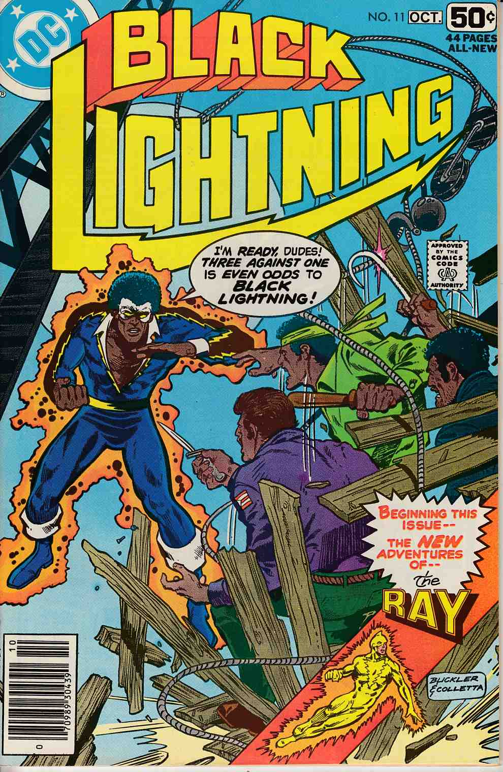 Black Lightning #11 Very Fine (8.0) [DC Comic] THUMBNAIL
