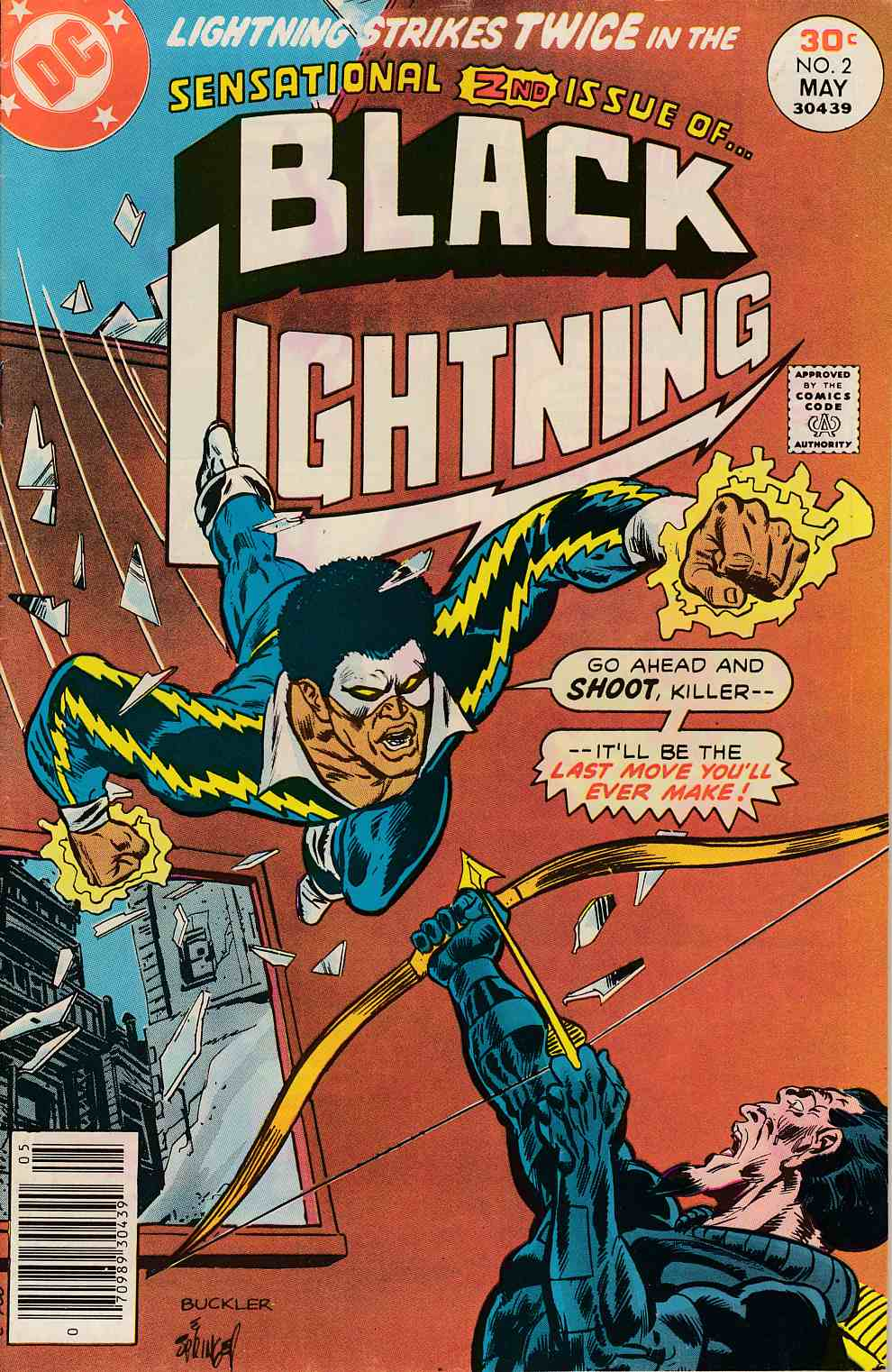 Black Lightning #2 FIne (6.0) [DC Comic] THUMBNAIL