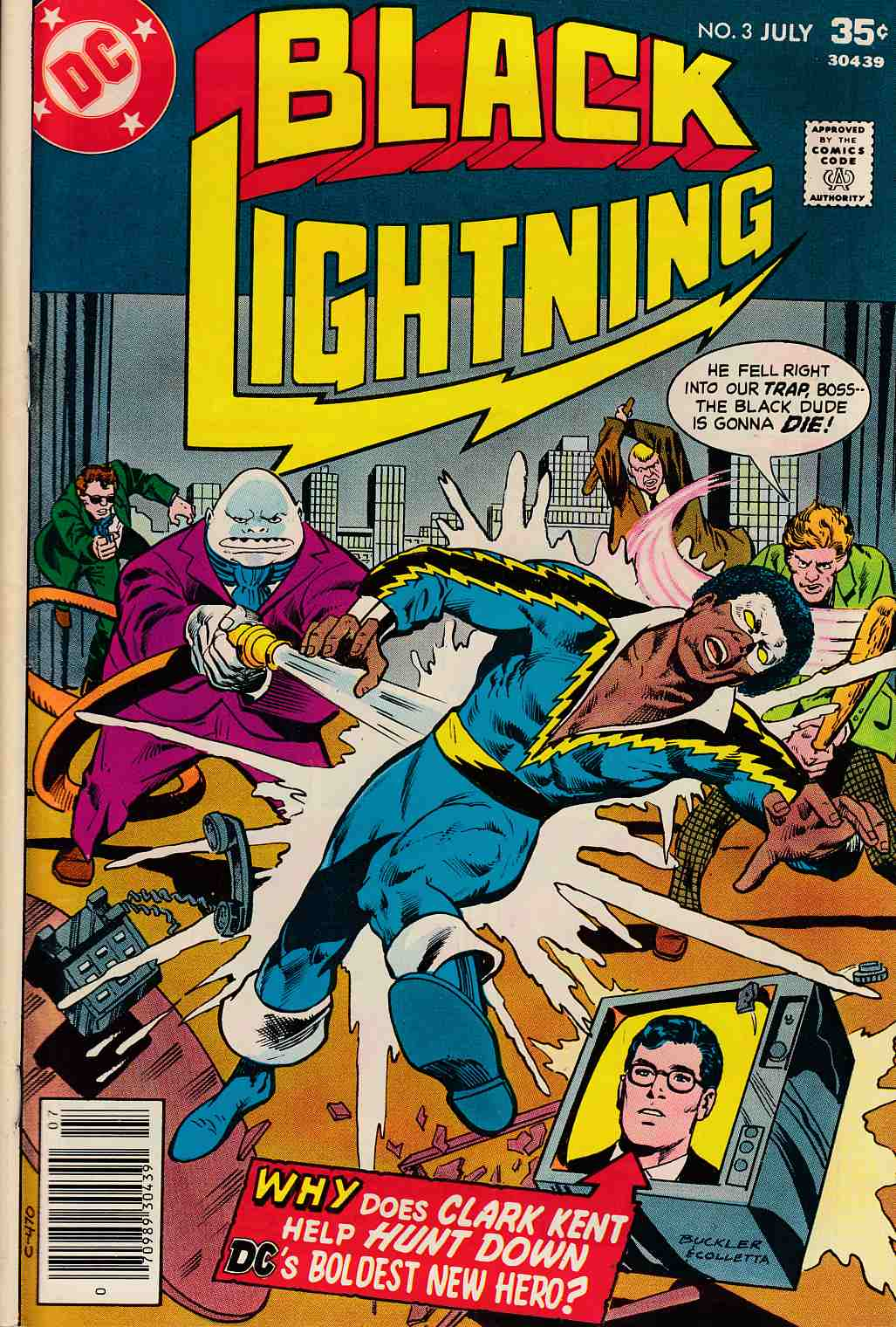 Black Lightning #3 Very Good (4.0) [DC Comic] THUMBNAIL