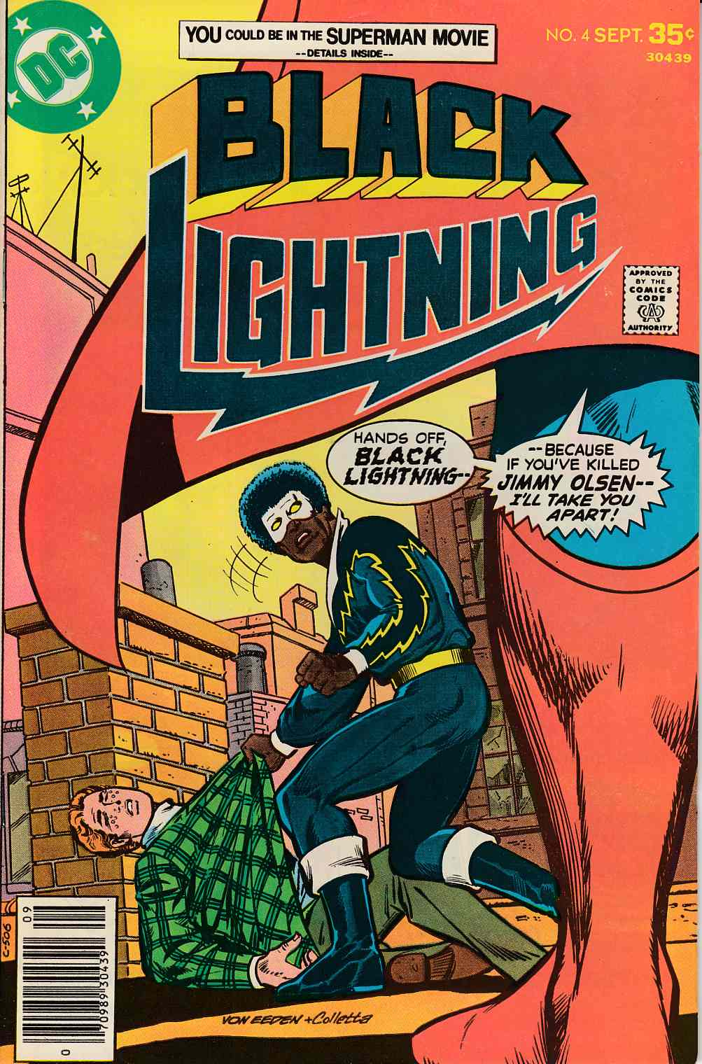 Black Lightning #4 Fine (6.0) [DC Comic] THUMBNAIL
