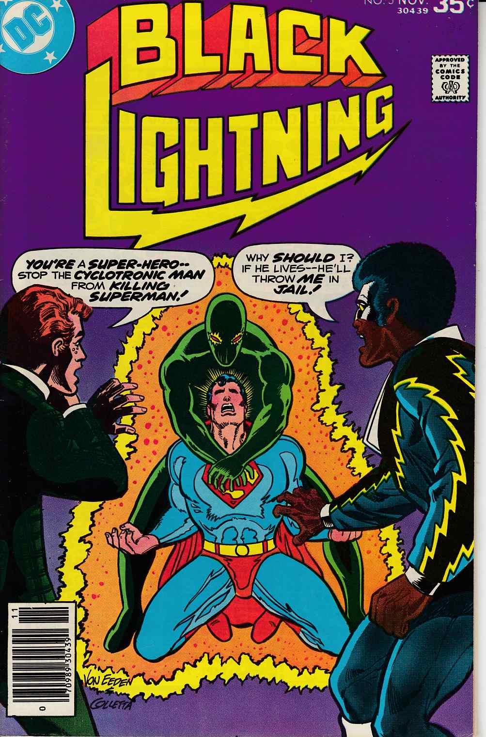 Black Lightning #5 Fine (6.0) [DC Comic] THUMBNAIL