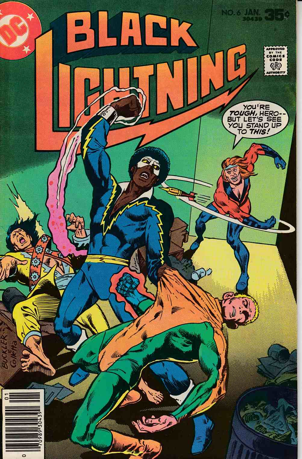 Black Lightning #6 Very Fine Minus (7.5) [DC Comic] THUMBNAIL