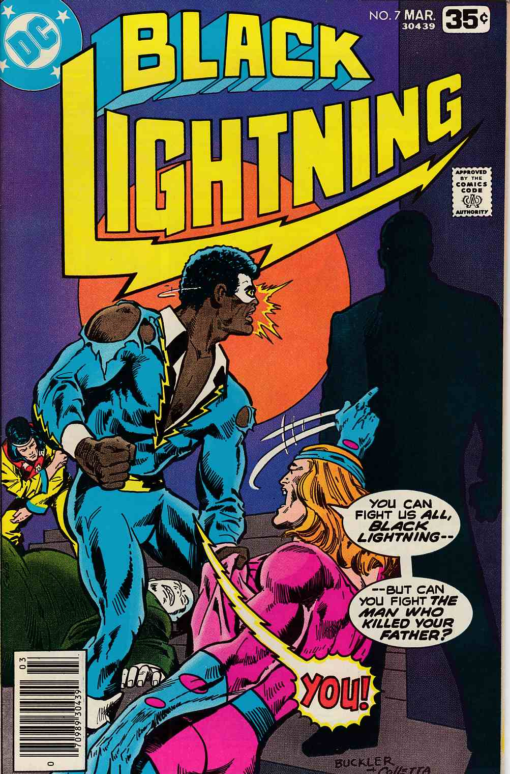 Black Lightning #7 Very Fine (8.0) [DC Comic] THUMBNAIL