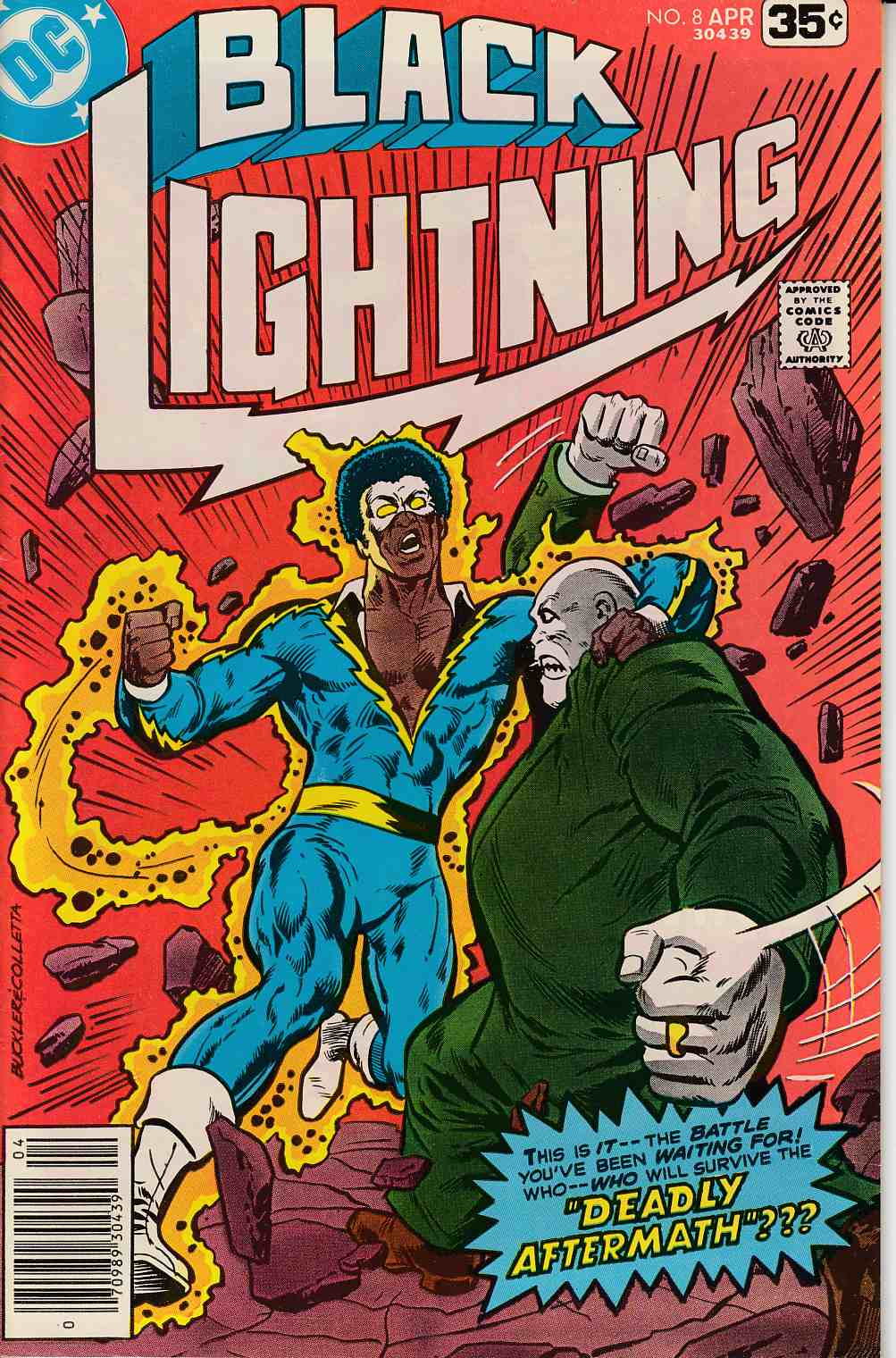 Black Lightning #8 Near Mint Minus (9.2) [DC Comic] THUMBNAIL