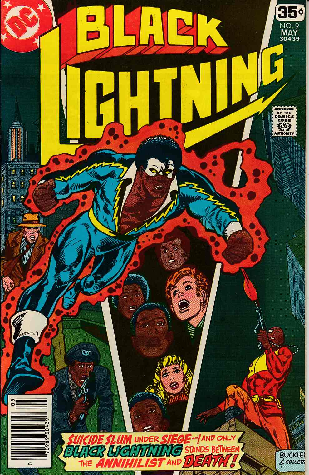 Black Lightning #9 Very Fine (8.0) [DC Comic] THUMBNAIL