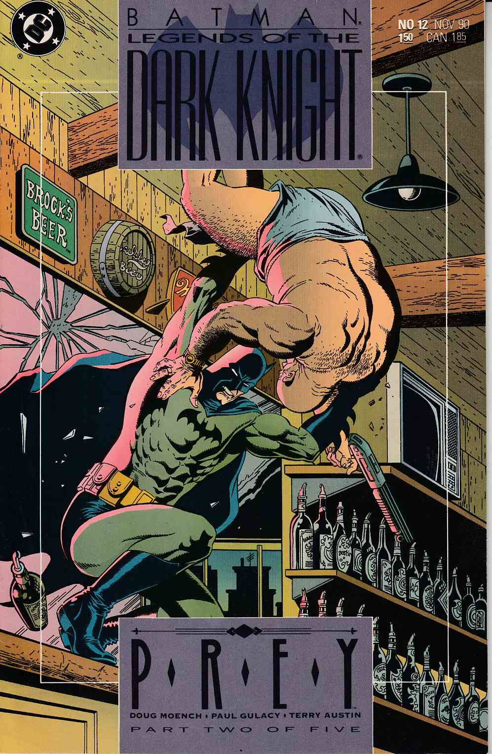 Batman Legends of the Dark Knight #12 Near Mint (9.4) [DC Comic] THUMBNAIL