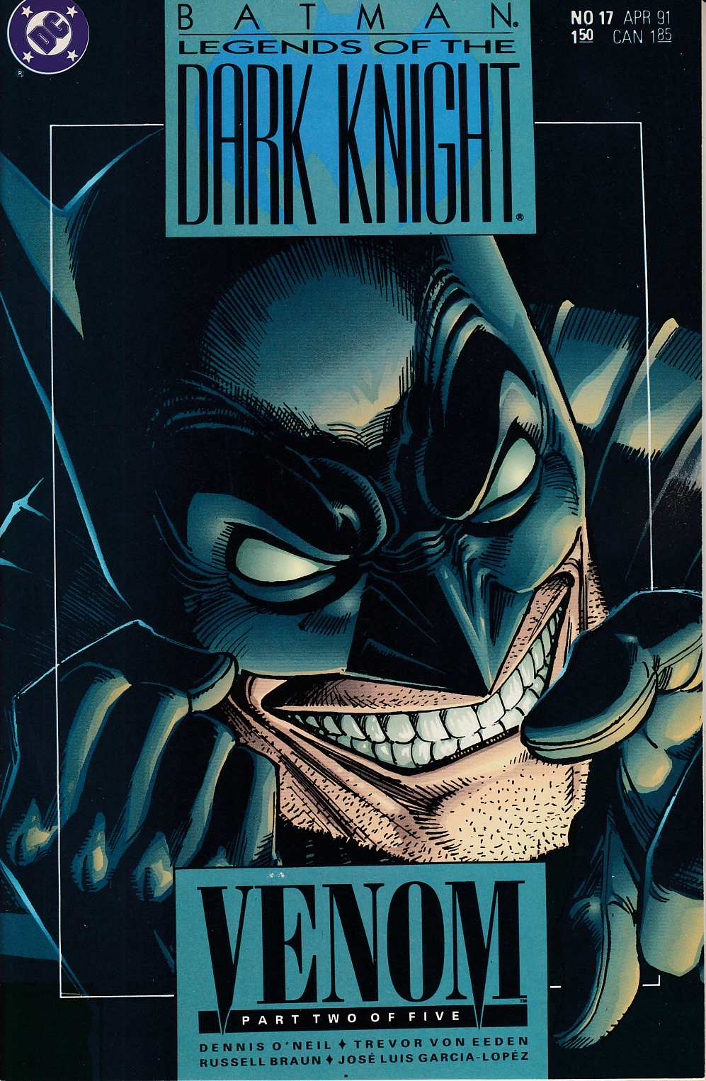 Batman Legends of the Dark Knight #17 Near Mint (9.4) [DC Comic] LARGE