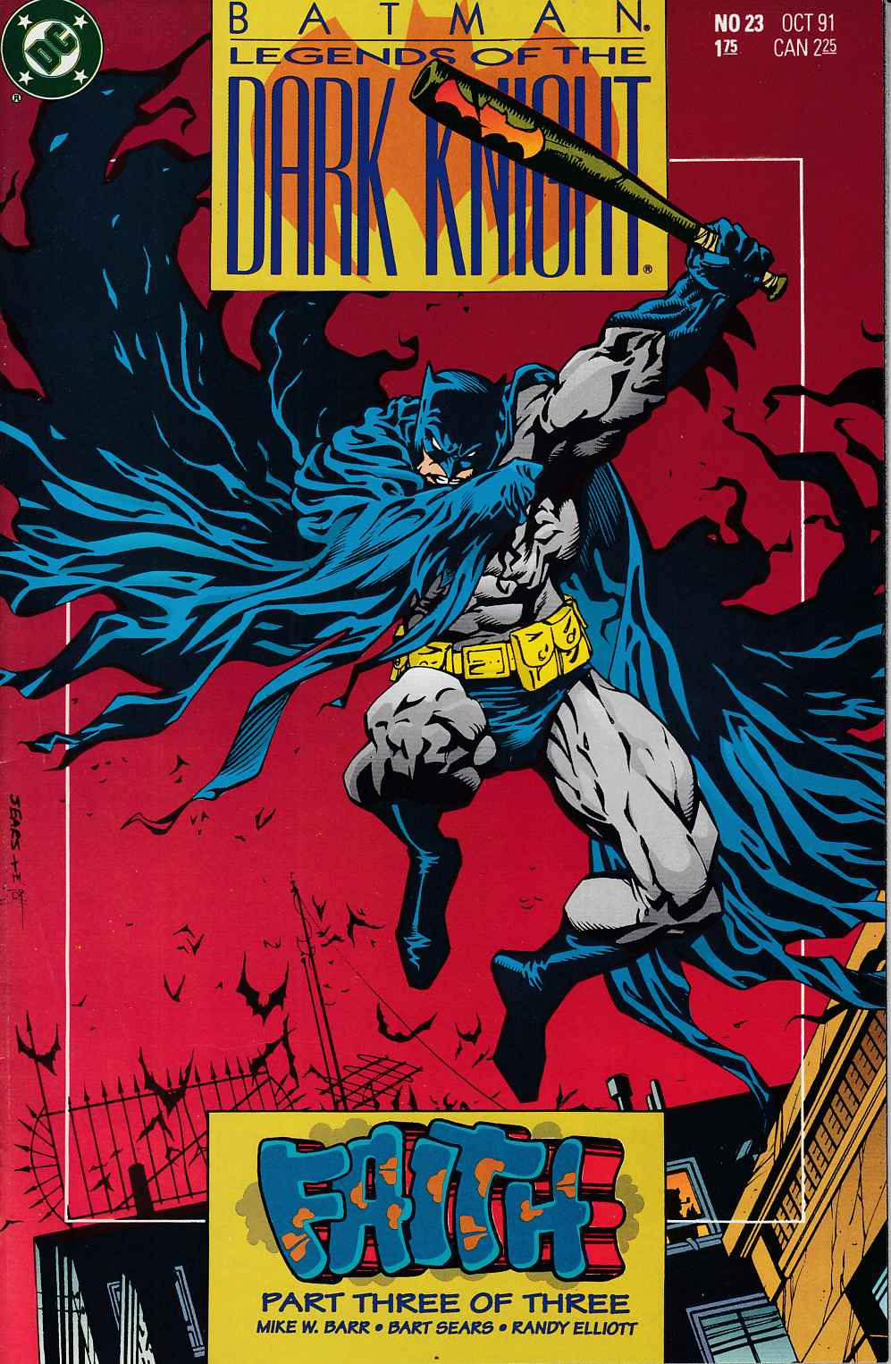 Batman Legends of the Dark Knight #23 Near Mint (9.4) [DC Comic] LARGE
