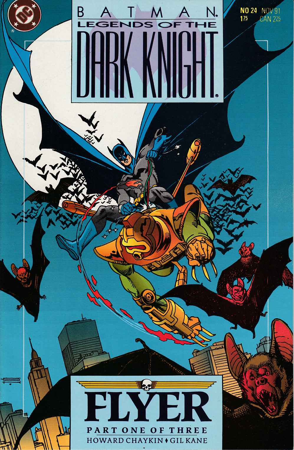 Batman Legends of the Dark Knight #24 Near Mint (9.4) [DC Comic] THUMBNAIL