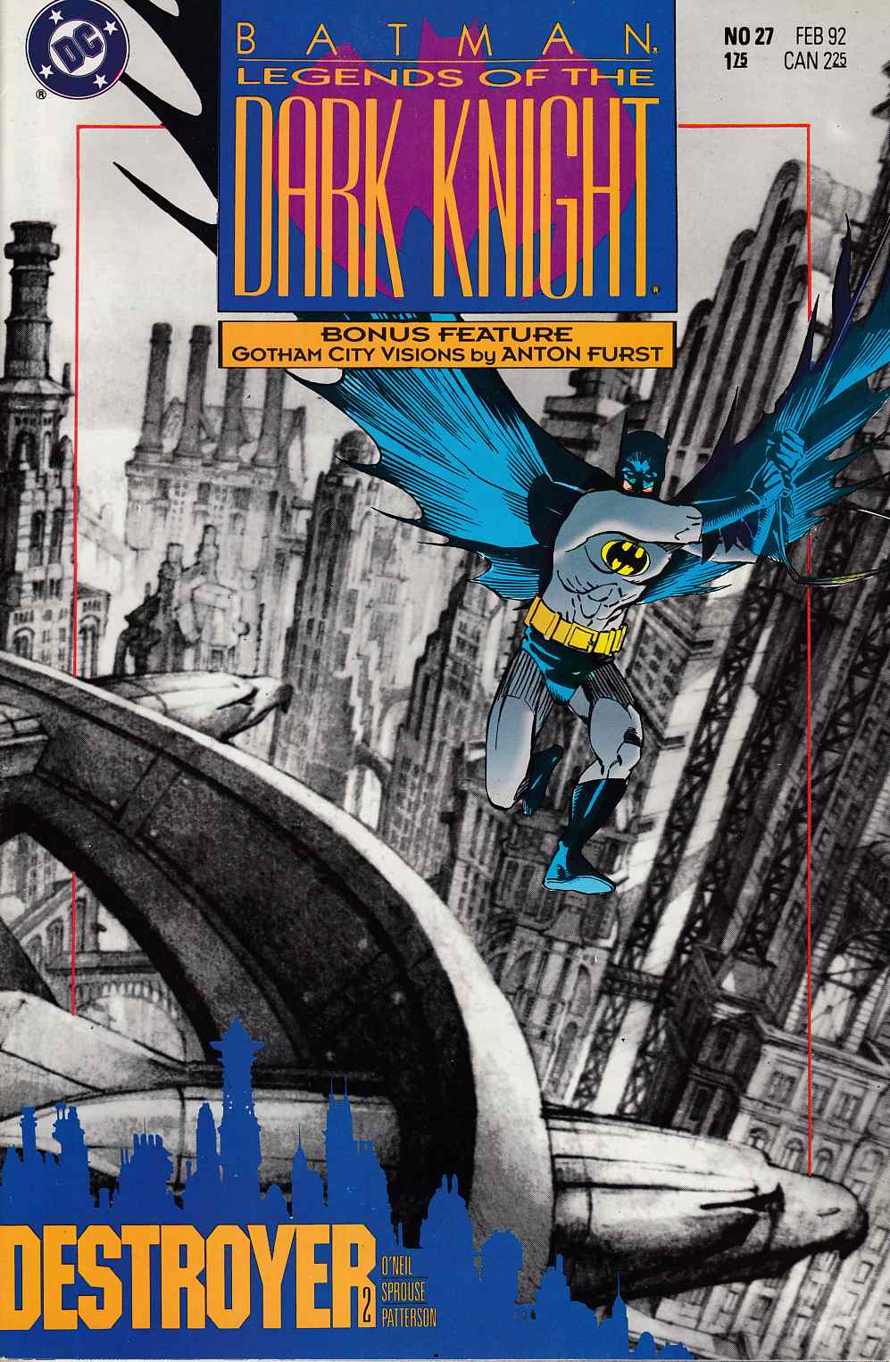 Batman Legends of the Dark Knight #27 Near Mint (9.4) [DC Comic] THUMBNAIL