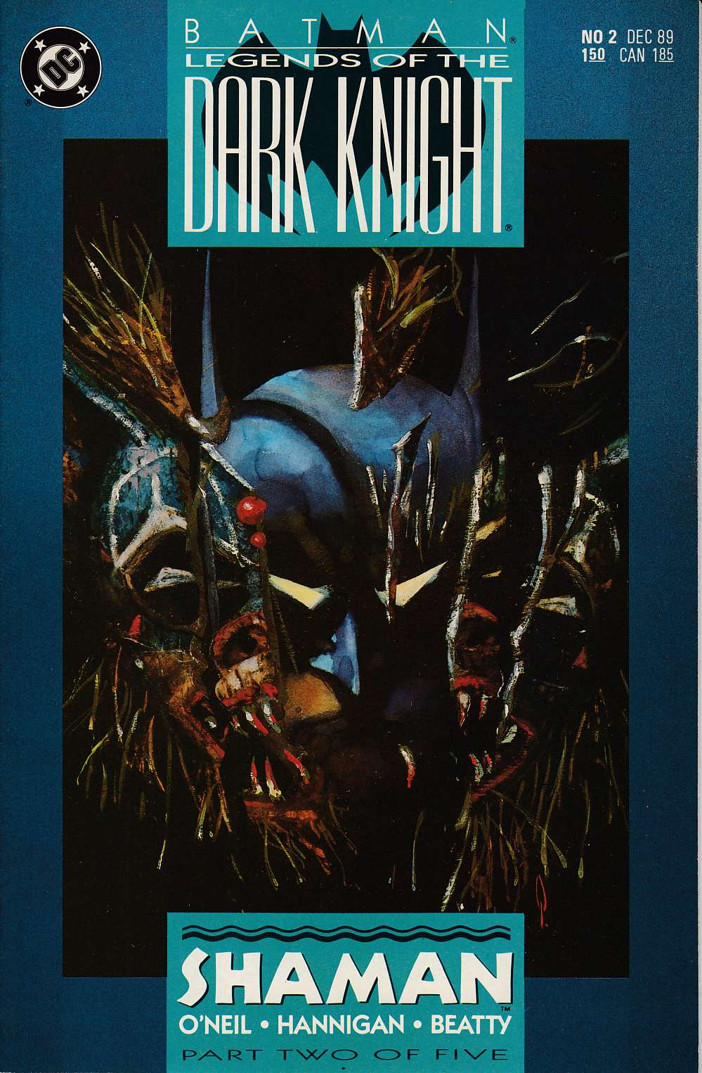 Batman Legends of the Dark Knight #2 Very Fine (8.0) [DC Comic] THUMBNAIL