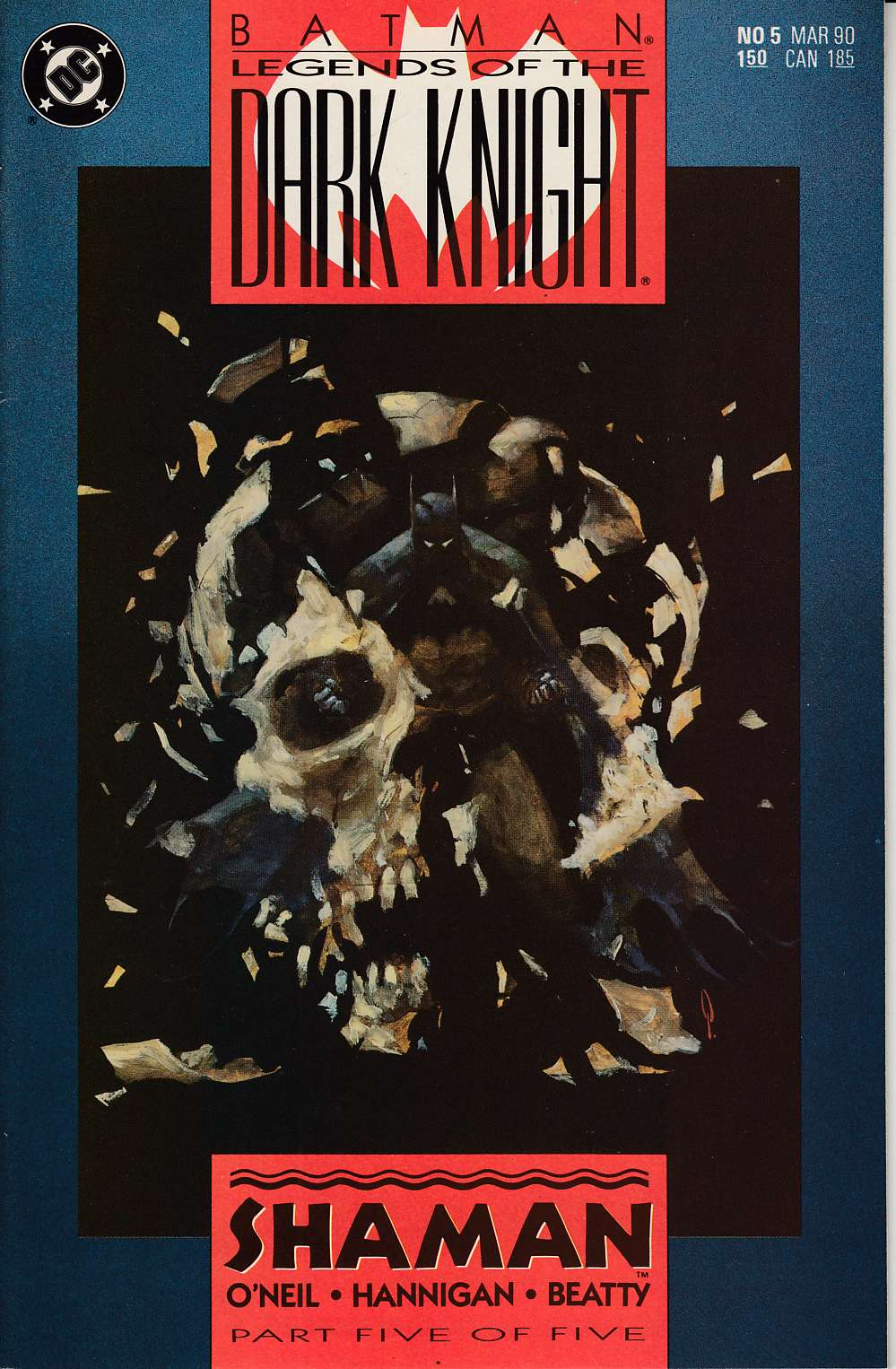 Batman Legends of the Dark Knight #5 Very Fine (8.0) [DC Comic] THUMBNAIL