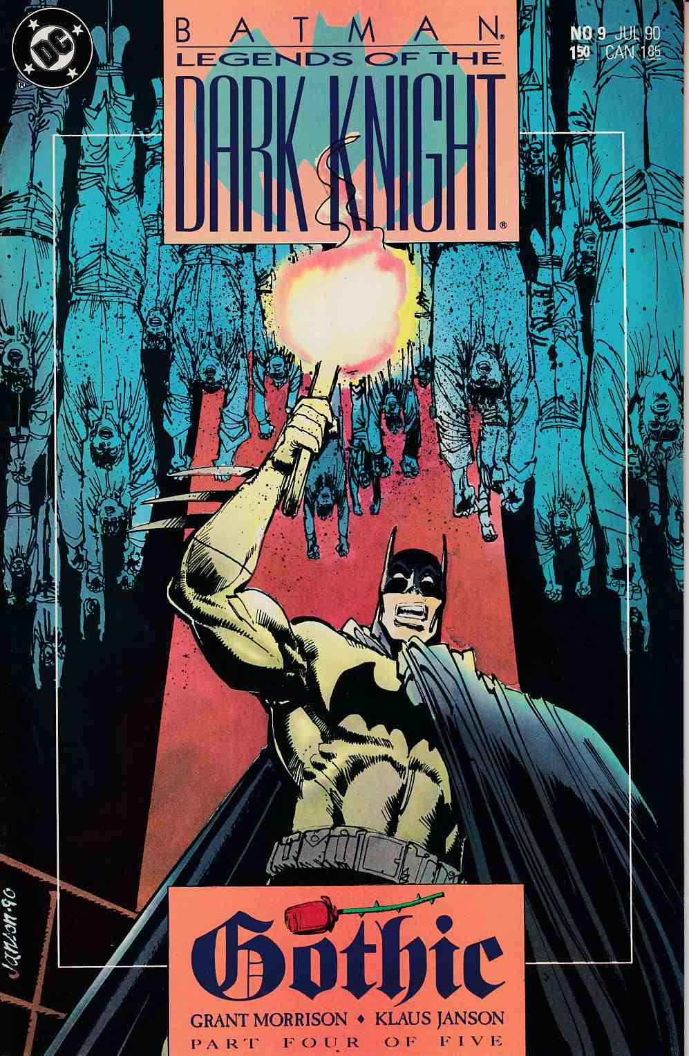 Batman Legends of the Dark Knight #9 Near Mint (9.4) [DC Comic] LARGE