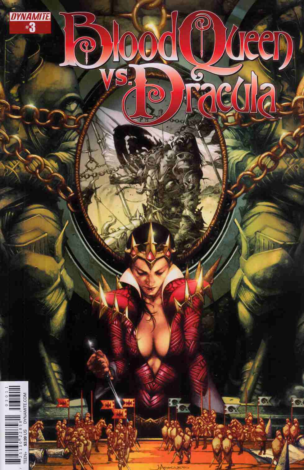 Blood Queen Vs Dracula #3 Cover A- Anacleto [Dynamite Comic] THUMBNAIL