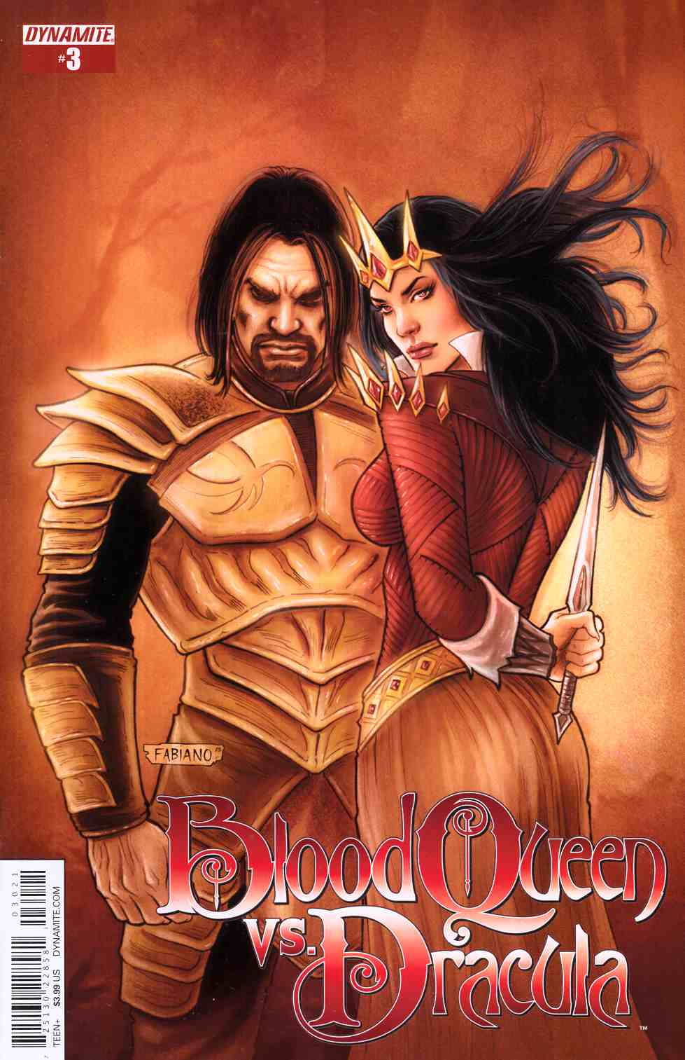 Blood Queen Vs Dracula #3 Cover B- Subscription Cover [Dynamite Comic] THUMBNAIL