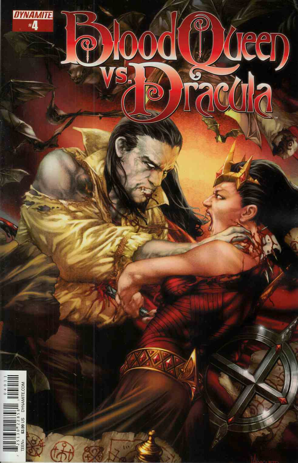 Blood Queen vs Dracula #4 Cover A- Anacleto [Dynamite Comic] THUMBNAIL