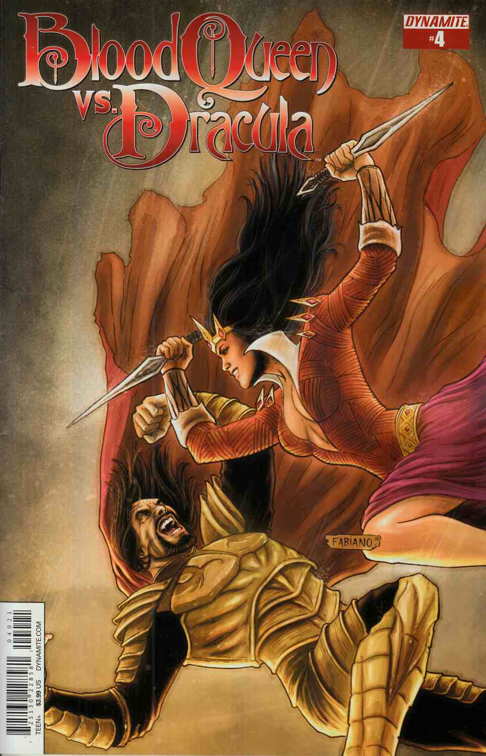 Blood Queen vs Dracula #4 Cover B- Subscription [Dynamite Comic] LARGE