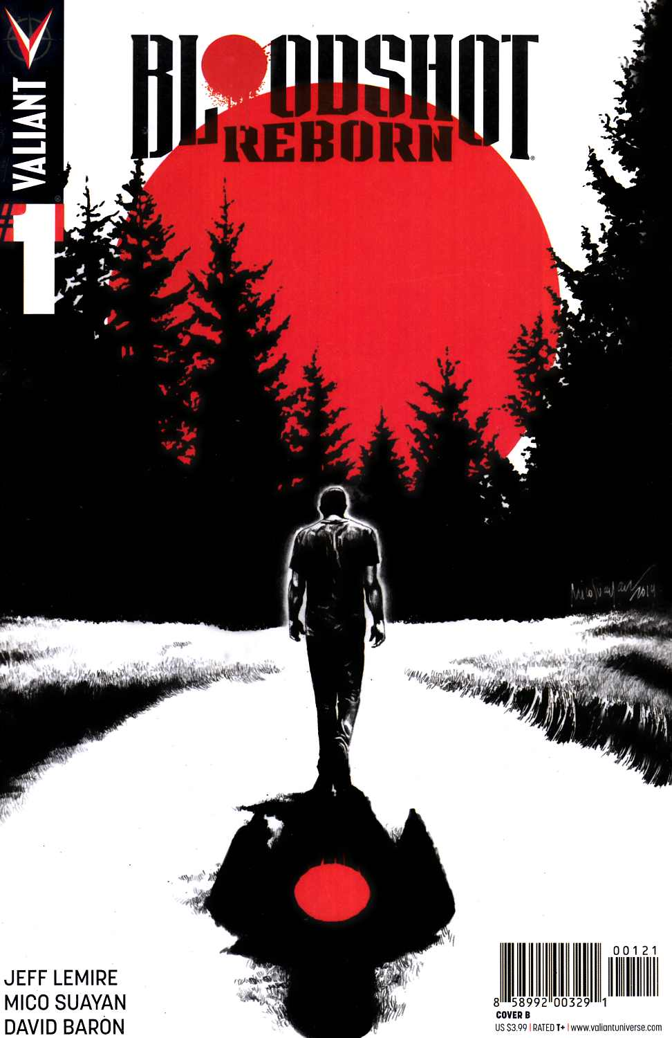 Bloodshot Reborn #1 Cover B- Suayan [Valiant Comic]