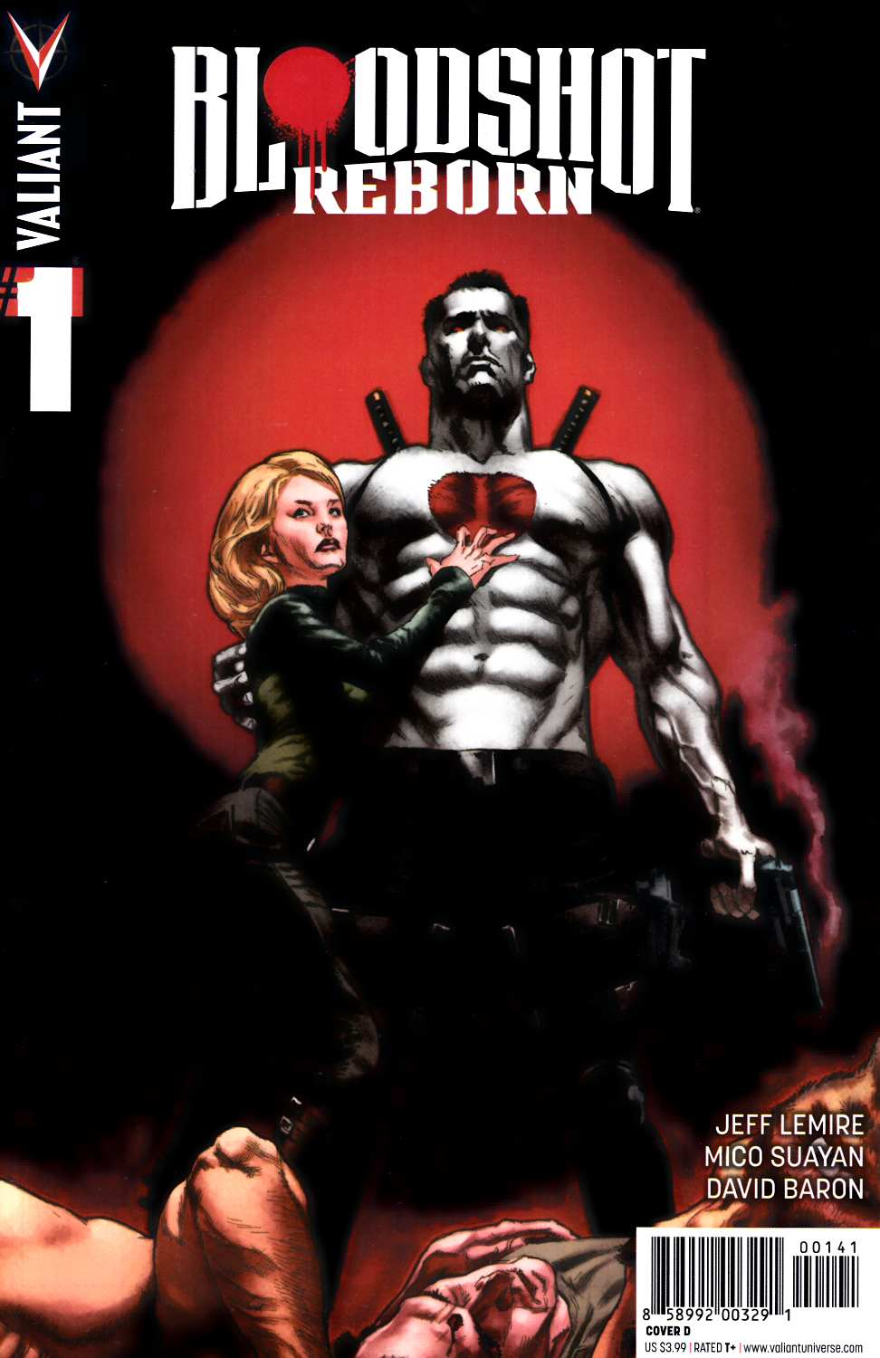 Bloodshot Reborn #1 Cover D- Larosa [Valiant Comic] THUMBNAIL