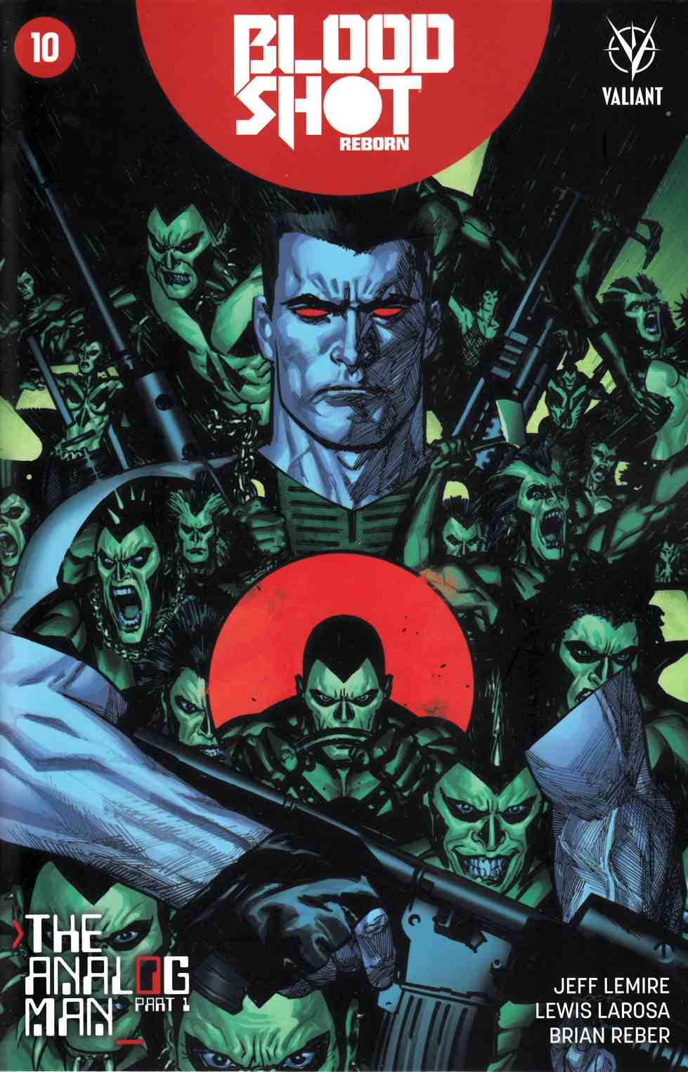 Bloodshot Reborn #10 Cover B- Sook [Valiant Comic]