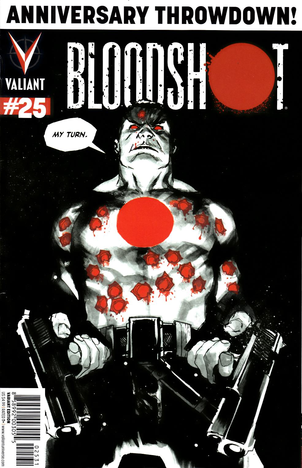 Bloodshot #25 Albuquerque Variant Cover [Comic]