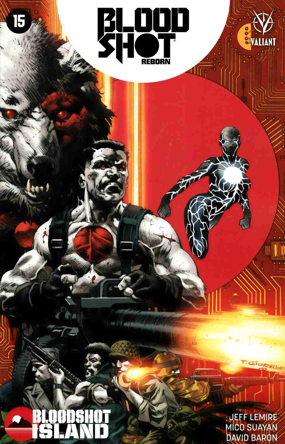 Bloodshot Reborn #15 Cover A [Valiant Comic] LARGE