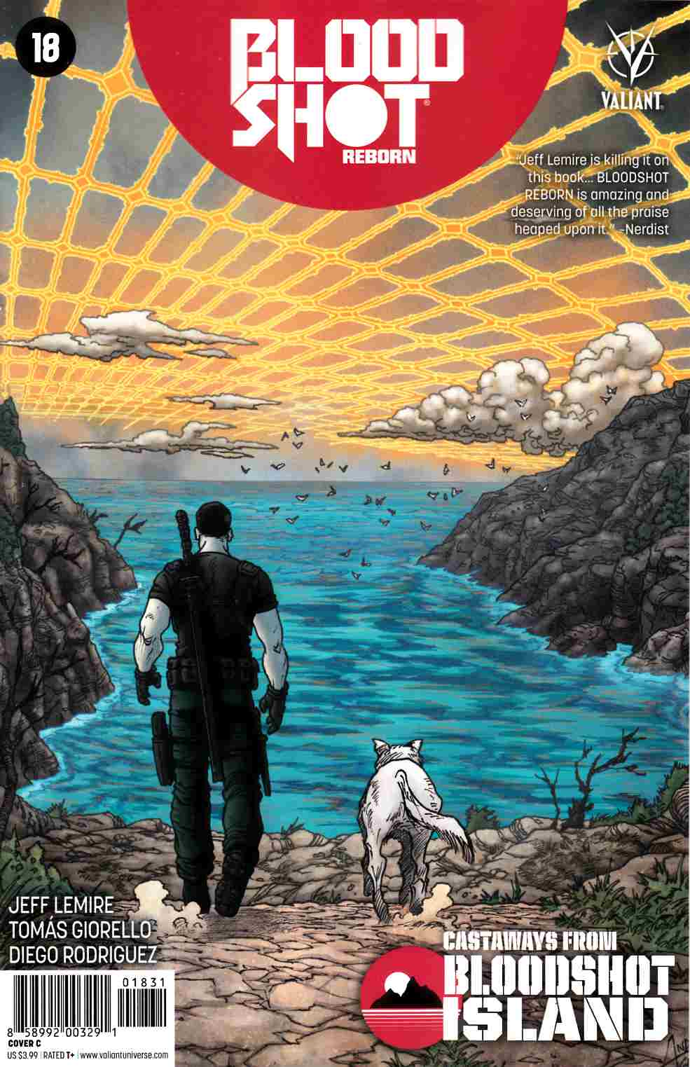 Bloodshot Reborn #18 Cover C [Valiant Comic] LARGE