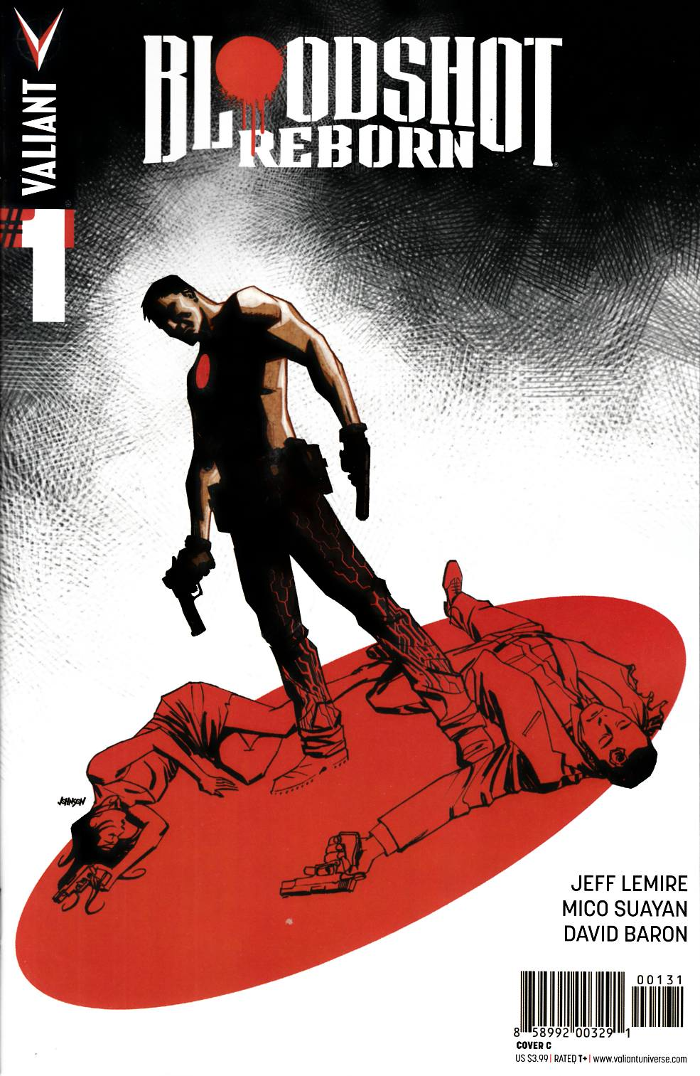 Bloodshot Reborn #1 Cover C- Johnson [Valiant Comic] THUMBNAIL