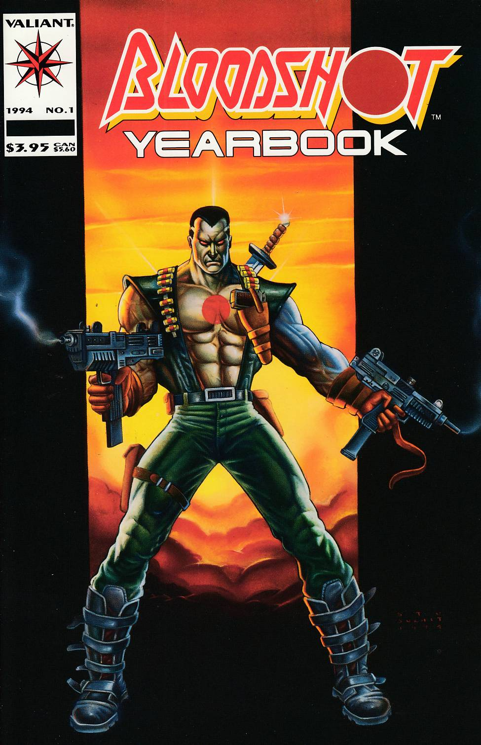 Bloodshot Yearbook #1 Near Mint Minus (9.2) [Valiant Comic] THUMBNAIL
