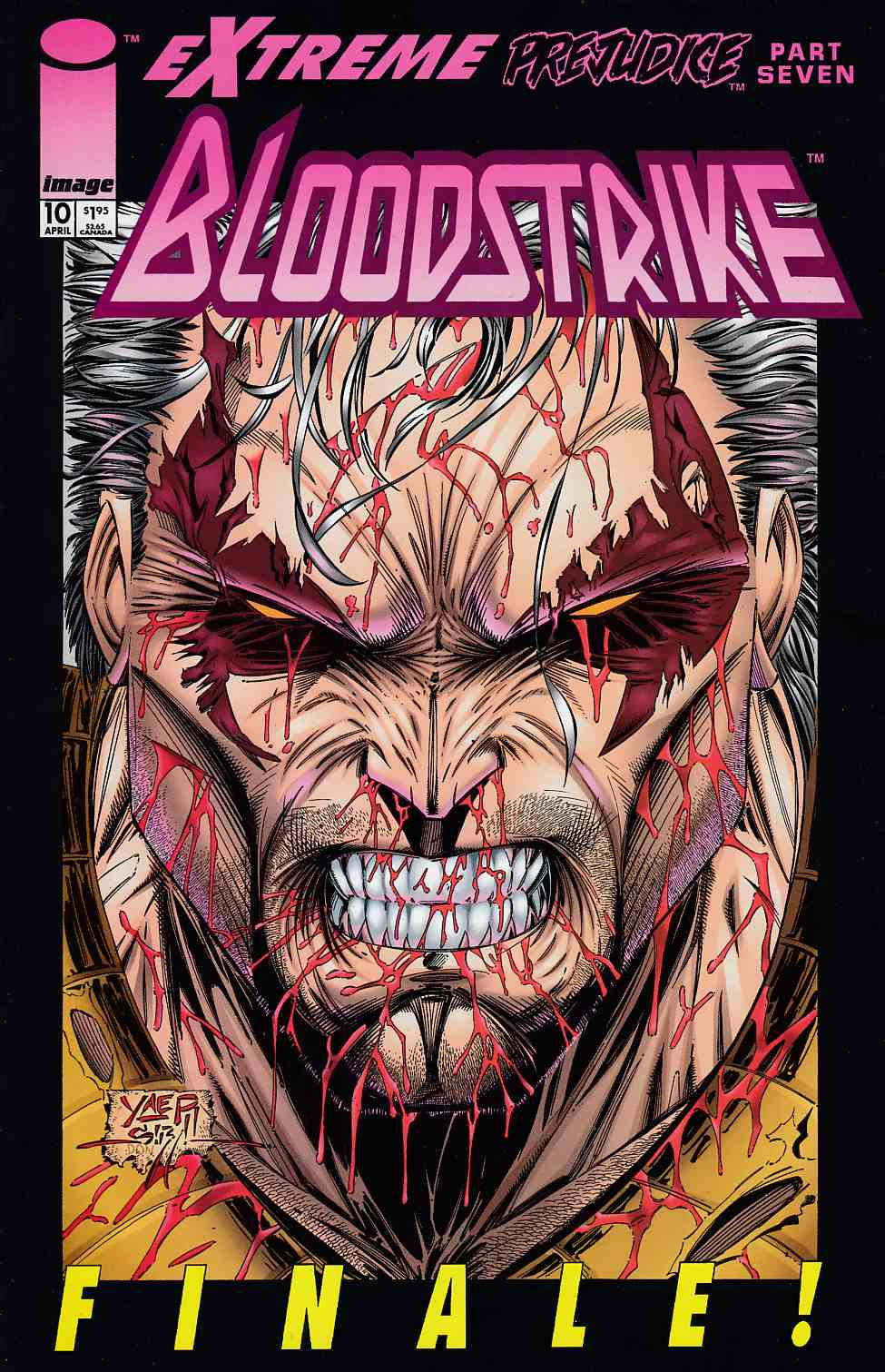 Bloodstrike #10 Near Mint (9.4) [Image Comic] THUMBNAIL