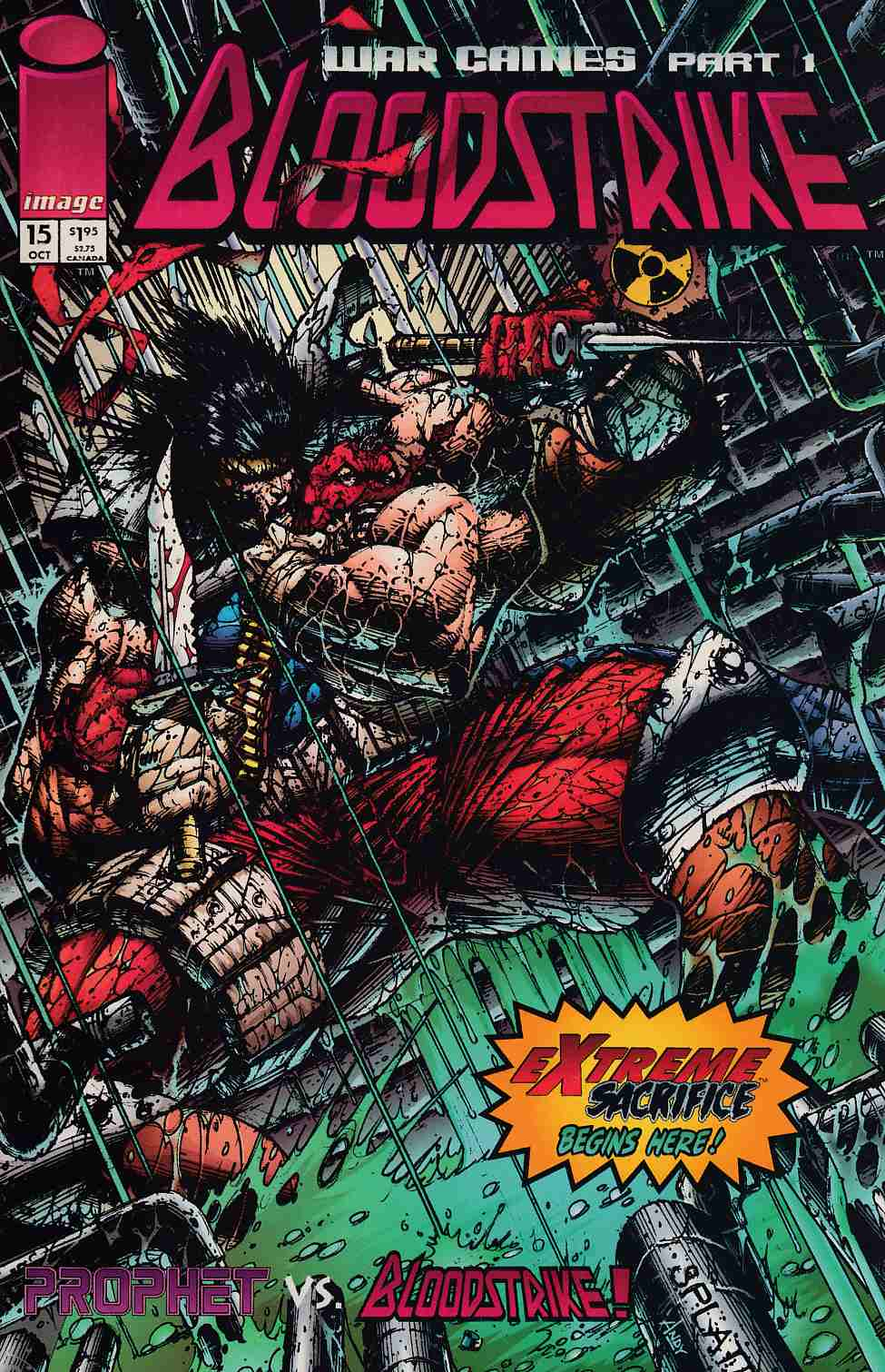 Bloodstrike #15 Near Mint (9.4) [Image Comic] THUMBNAIL