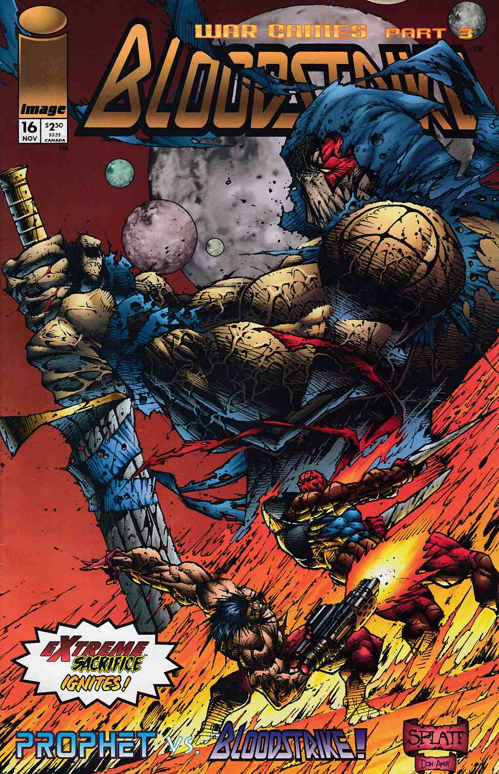 Bloodstrike #16 Very Fine (8.0) [Image Comic] THUMBNAIL