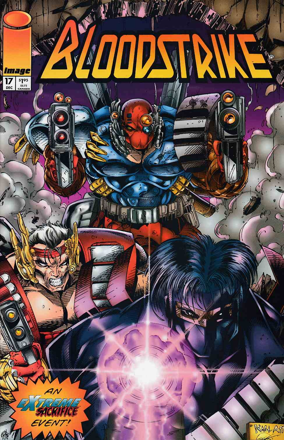 Bloodstrike #17 Near Mint (9.4) [Image Comic] THUMBNAIL