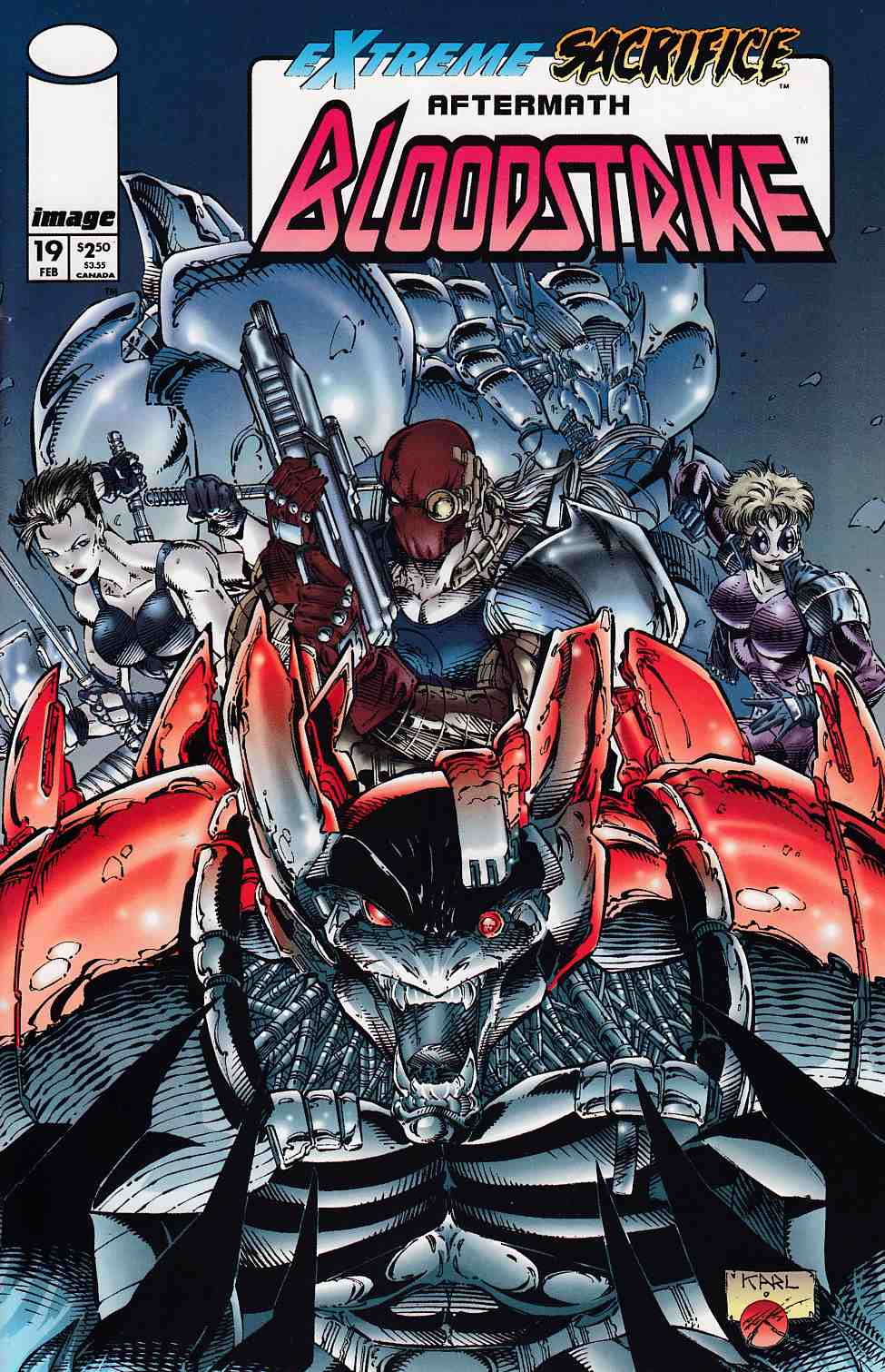 Bloodstrike #19 Very Fine (8.0) [Image Comic] THUMBNAIL