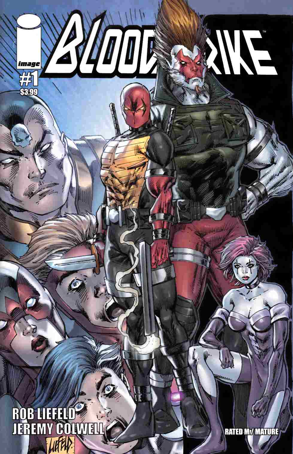 Bloodstrike #1 Cover A- Liefeld [Image Comic]