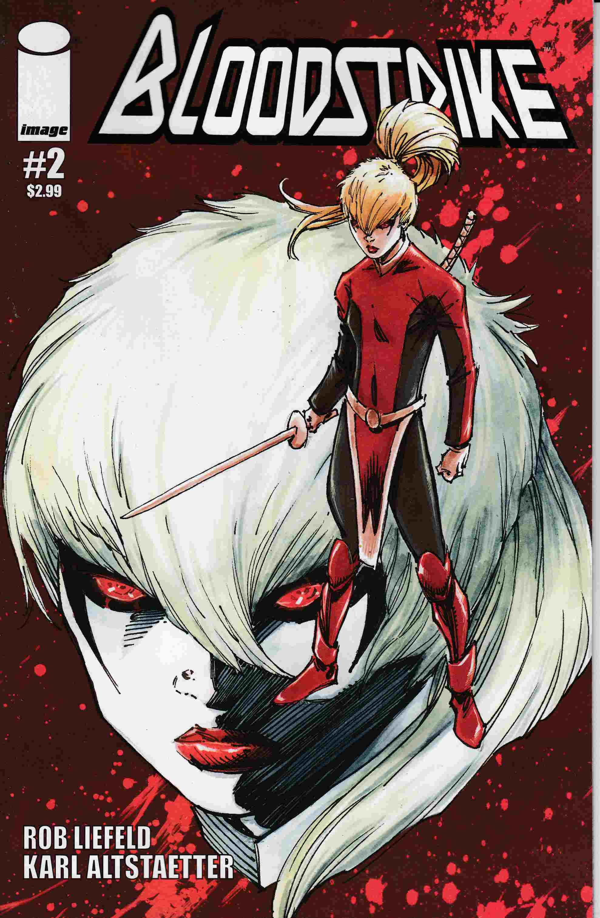 Bloodstrike #2 Cover B [Image Comic] LARGE