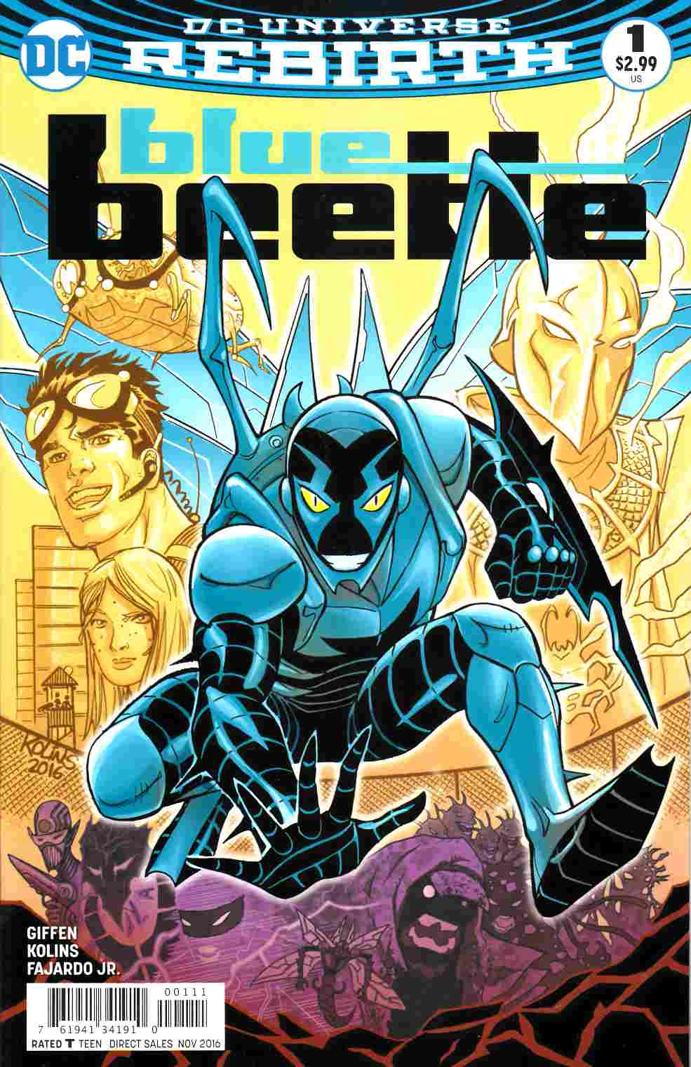 Blue Beetle #1 [DC Comic] LARGE