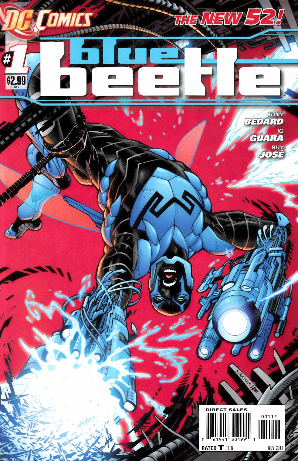 Blue Beetle #1 Second Printing [DC Comic] LARGE
