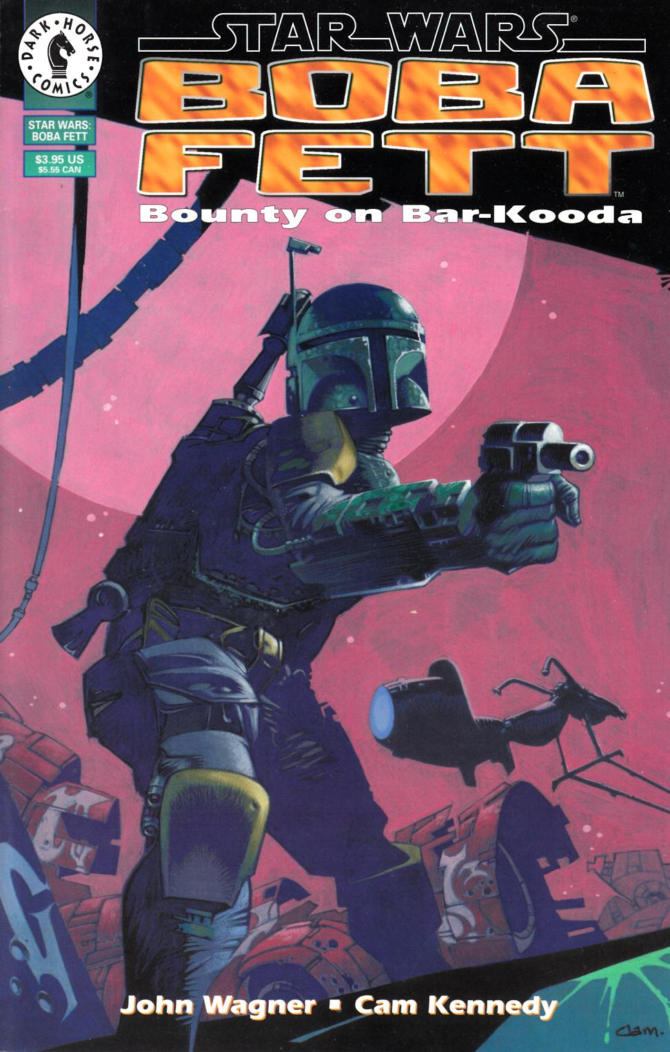 Star Wars Boba Fett Bounty on Bar-Kooda [Dark Horse Comic] THUMBNAIL