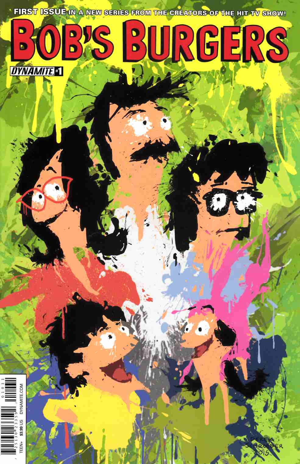 Bobs Burgers Ongoing #1 Cover C- Schroeder Work of Art [Dynamite Comic] THUMBNAIL