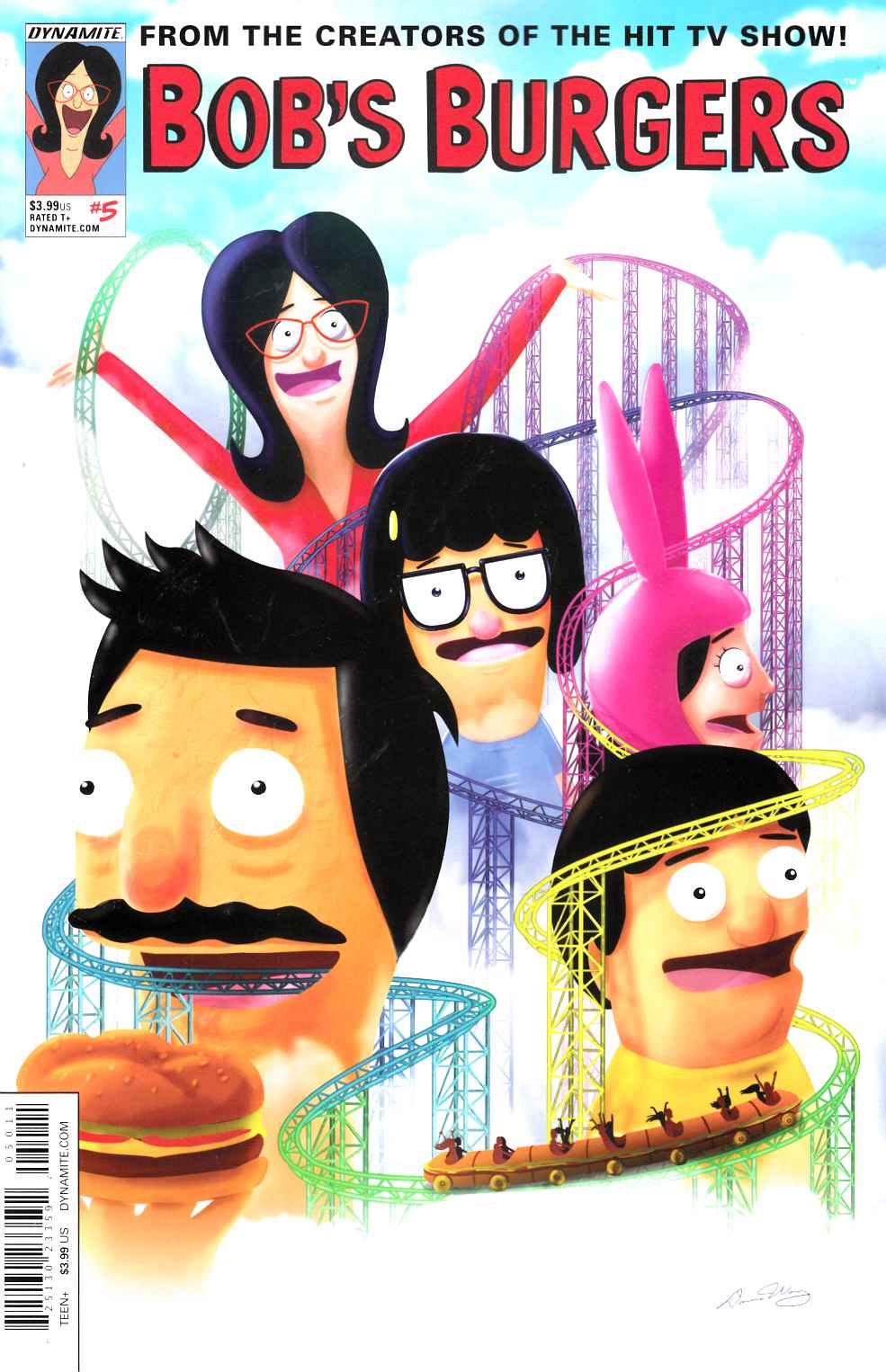 Bobs Burgers Ongoing #5 Cover A- Wong [Dynamite Comic] THUMBNAIL