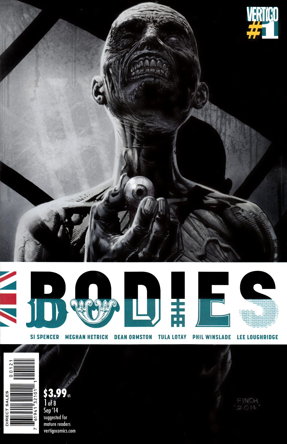 Bodies #1 David Finch Variant Cover [Comic]_THUMBNAIL