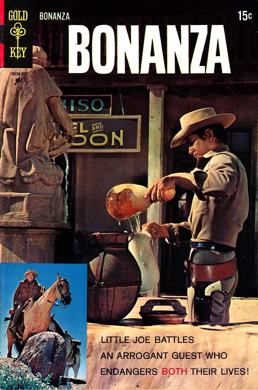 Bonanza #28 [Gold Key Comic] LARGE