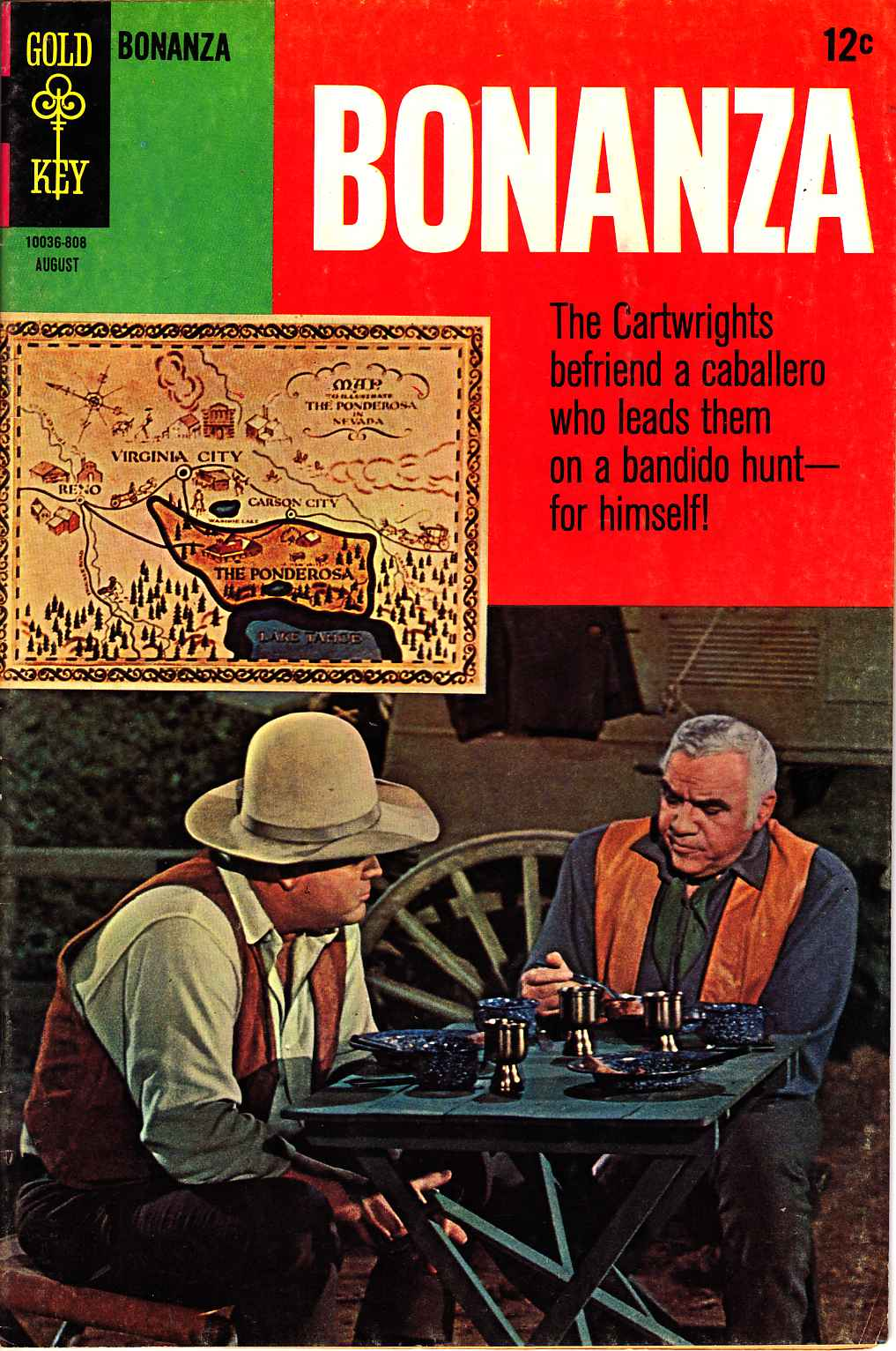 Bonanza #29 [Gold Key Comic] LARGE