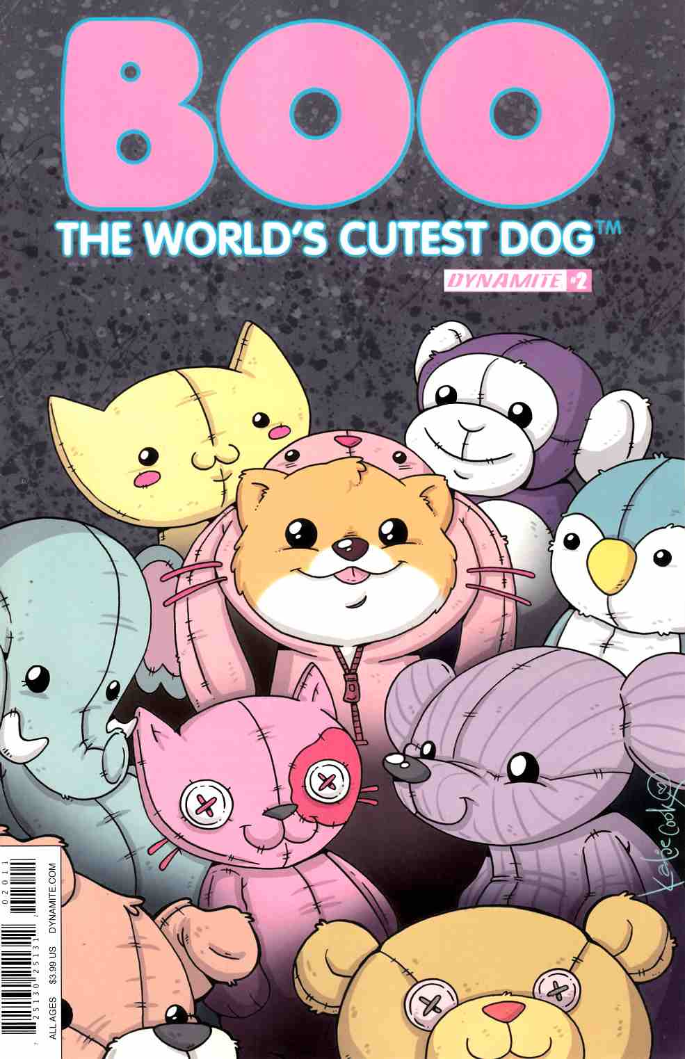 Boo Worlds Cutest Dog #2 Cover A [Dynamite Comic] THUMBNAIL