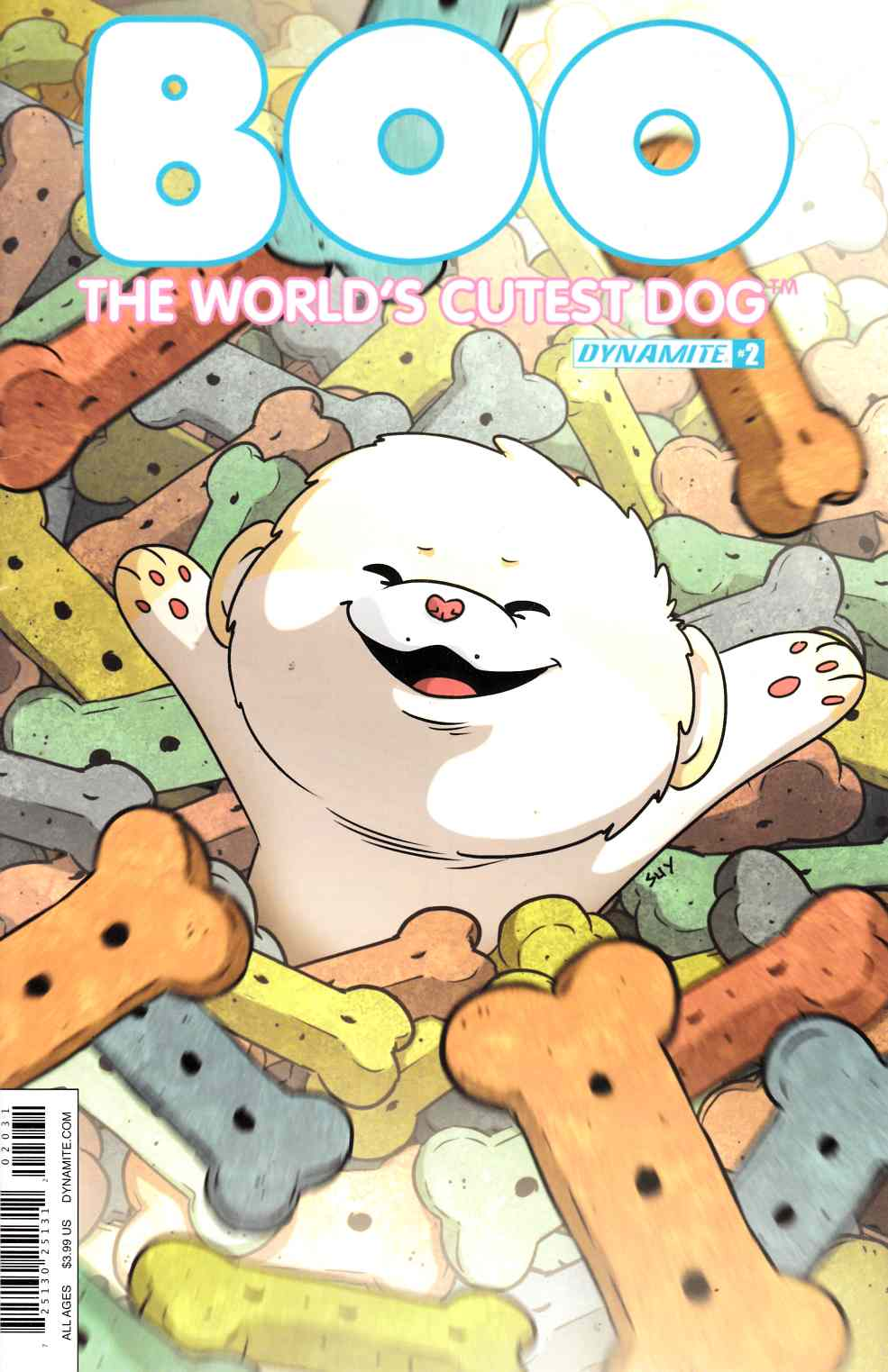 Boo Worlds Cutest Dog #2 Cover C [Dynamite Comic] THUMBNAIL
